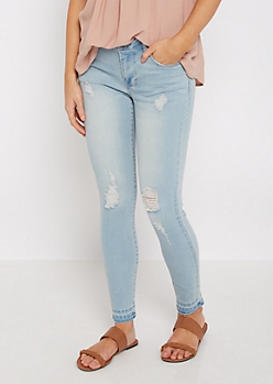 Released Hem Jean By Sadie Robertson X Wild Blue