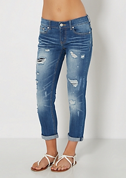 Destroyed & Repaired Jean Crops