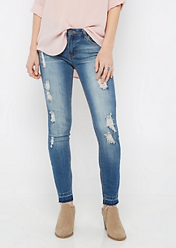 Destroyed Released Cuff Jegging