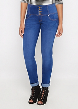Better Butt High Waisted 3-Shank Skinny Jean