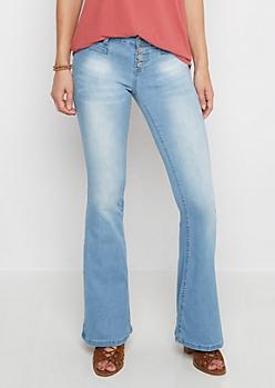 Vintage 4-Shank High Waist Flare Jean