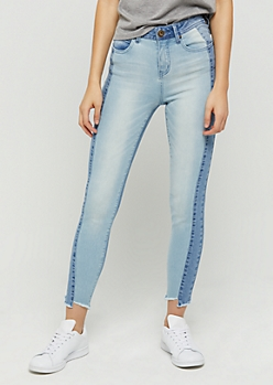 Tonal High Rise Ankle Jegging in Regular