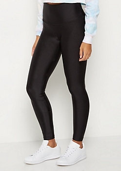 Black Shimmer Legging