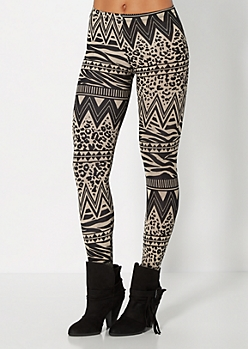 Tribal Mix Legging
