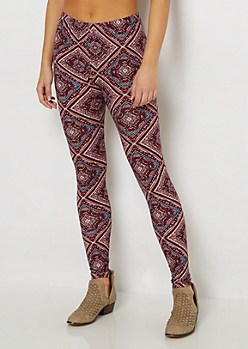 Geo Diamond Tribal Legging
