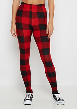 Buffalo Check Legging