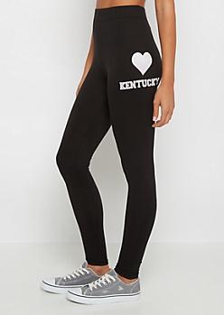 Kentucky Heart Soft Knit Legging