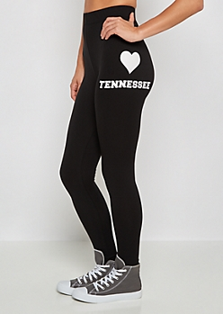 Tennessee Heart Soft Knit Legging