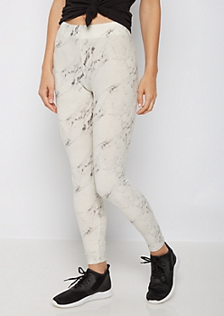Marbled High Rise Legging