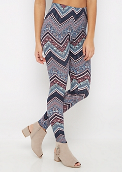 Folklore Chevron Soft Brushed Legging
