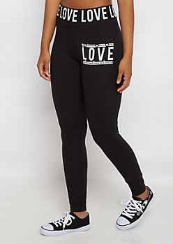 Love Banded Stretch Legging