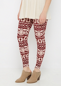 Geo Tribal Soft Brushed Legging