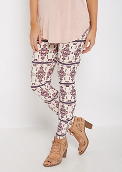 Mirrored Medallion Soft Brushed Legging