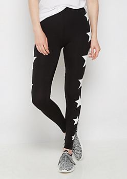 Black Star High Rise Legging
