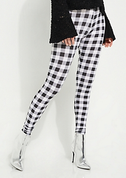Buffalo Plaid High Rise Legging