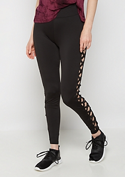 Caged Strap High Rise Legging