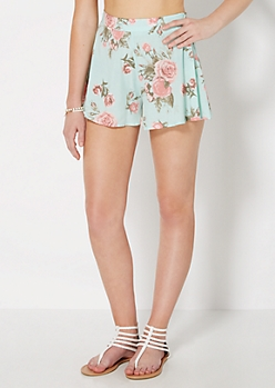 Mint Rose Swing Short