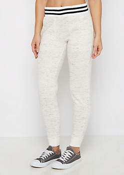 White Space Dye Fleece Jogger