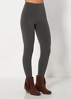 Charcoal High-Waisted Legging