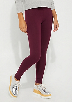 Purple High Rise Legging