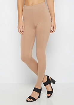 Taupe Super Soft High-Waisted Legging
