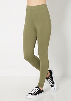 Solid Leggings