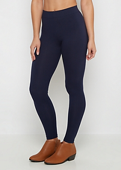 Navy Super Soft High-Waisted Legging