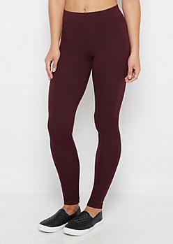 Dark Purple Super Soft High-Waisted Legging