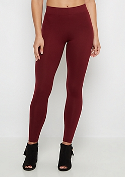 Burgundy Super Soft High-Waisted Legging