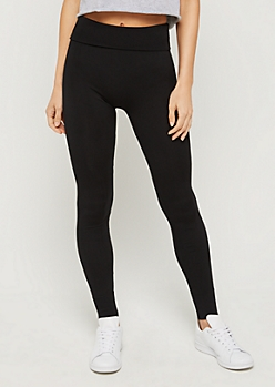Black Seamless High Rise Legging