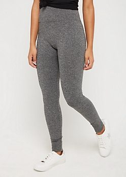 Charcoal Gray Seamless High Rise Legging