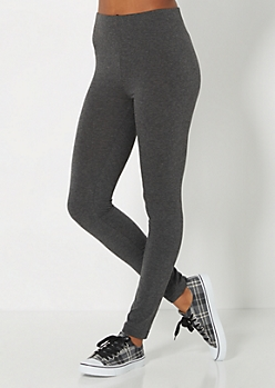 Heathered Charcoal Gray Legging