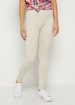 Oatmeal Heather High Rise Legging
