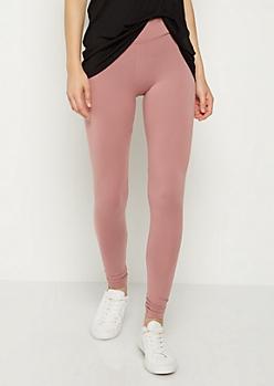 Pink Mid Rise Legging