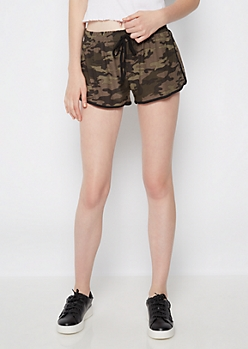 Camo Soft Brushed Dolphin Short