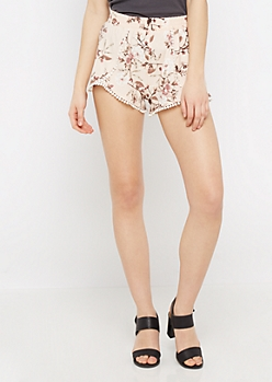 Floral Super Soft Envelope Short