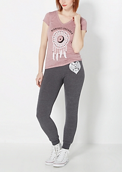 Love & Hope Hacci Knit Jogger