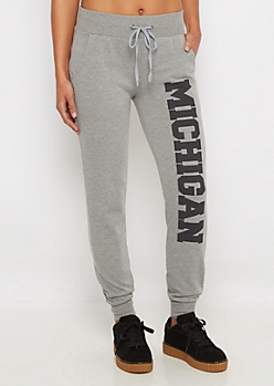 Michigan Soft Knit Jogger