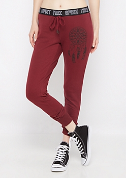 Free Spirit Dreamcatcher Slim Jogger