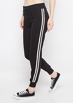 Double Striped Athletic Jogger