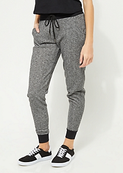 Classic Marled Knit Jogger