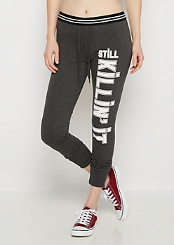 Still Killin It Soft Knit Slim Jogger
