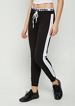 Baby Girl Layered Waist Jogger
