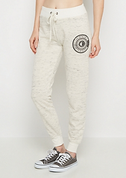 Live By The Sun Marled Soft Jogger