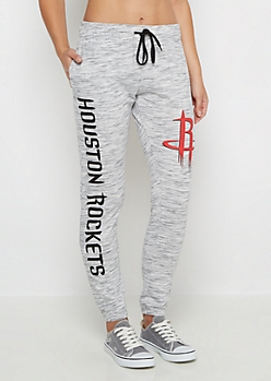 Houston Rockets Space Dye Jogger