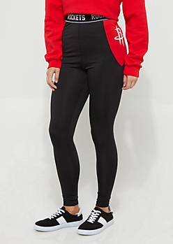 Houston Rockets Contrast Leggings