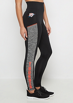 Oklahoma City Thunder Color Block Legging