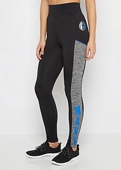 Dallas Mavericks Color Block Legging