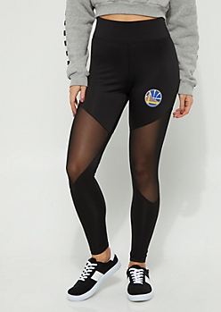 Golden State Warriors Mesh Knee Leggings