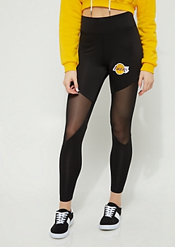 Los Angeles Lakers Mesh Knee Leggings
